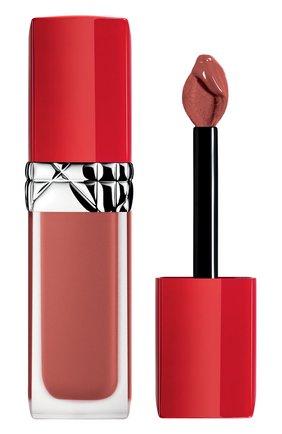 Женская жидкая помада для губ rouge dior ultra care liquid, 808 забота DIOR бесцветного цвета, арт. C010400808 | Фото 1