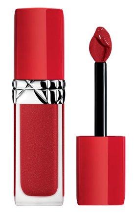 Женская жидкая помада для губ rouge dior ultra care liquid, 860 флирт DIOR бесцветного цвета, арт. C010400860 | Фото 1