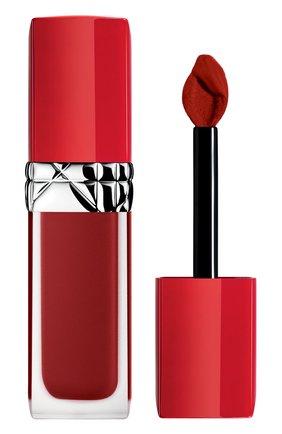 Женская жидкая помада для губ rouge dior ultra care liquid, 866 романтичный DIOR бесцветного цвета, арт. C010400866 | Фото 1