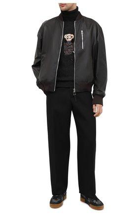 Мужской кашемировый свитер RALPH LAUREN темно-серого цвета, арт. 790812505 | Фото 2