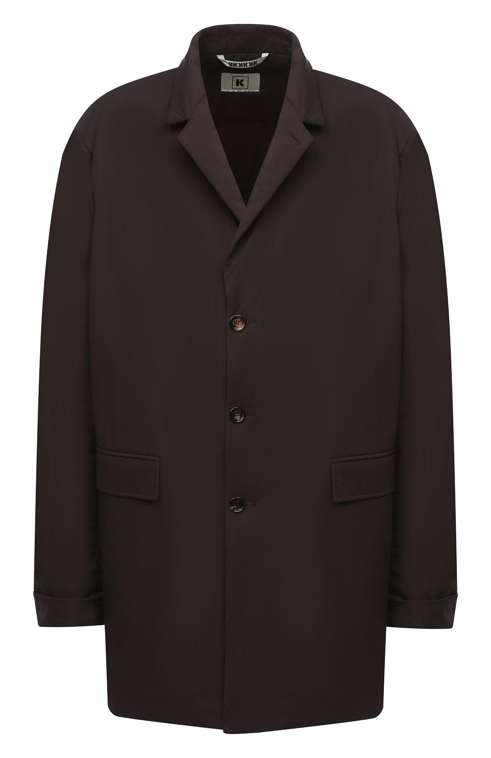 Мужской пуховый плащ KIRED коричневого цвета, арт. WPELM0LW6806527000/62-72 | Фото 1