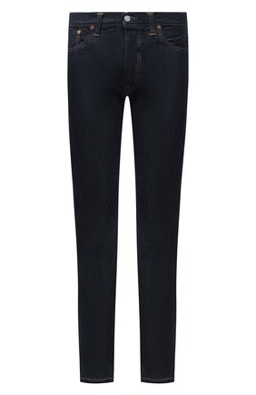 Мужские джинсы RRL темно-синего цвета, арт. 782504838/001 | Фото 1