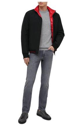 Мужской шерстяной джемпер BOSS темно-серого цвета, арт. 50415786 | Фото 2