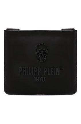Мужская текстильная сумка PHILIPP PLEIN черного цвета, арт. A20A MBA0999 PLE111N   Фото 1