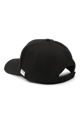 Мужской хлопковая бейсболка PHILIPP PLEIN черного цвета, арт. A20A UAC0051 PTE003N | Фото 2