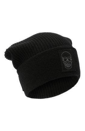 Мужская шапка PHILIPP PLEIN черного цвета, арт. A20A MAC0588 PKN002N | Фото 1