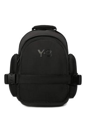 Мужской текстильный рюкзак Y-3 черного цвета, арт. GK2106/M | Фото 1