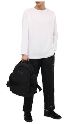 Мужской текстильный рюкзак Y-3 черного цвета, арт. GK2106/M | Фото 2