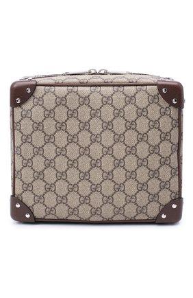 Мужская сумка GUCCI бежевого цвета, арт. 626363/92TDN | Фото 1