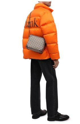 Мужская сумка GUCCI бежевого цвета, арт. 626363/92TDN | Фото 2