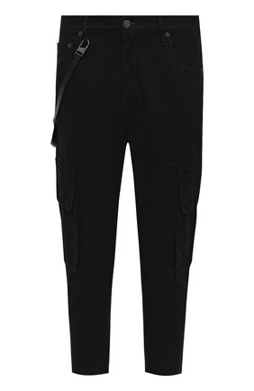 Мужские джинсы HELMUT LANG черного цвета, арт. K06DM211 | Фото 1
