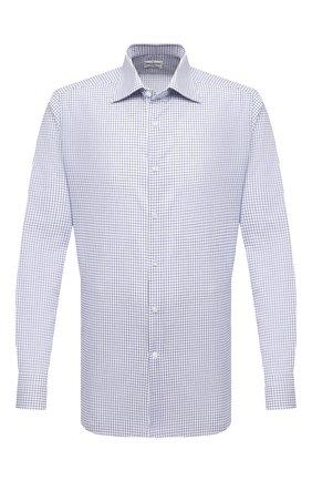 Мужская хлопковая сорочка BAGUTTA голубого цвета, арт. 450_EAL/10649 | Фото 1