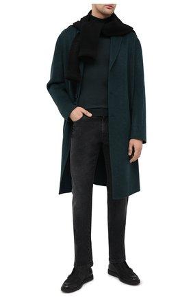Мужские кожаные ботинки SANTONI черного цвета, арт. MGDT17104NERACUXN51 | Фото 2