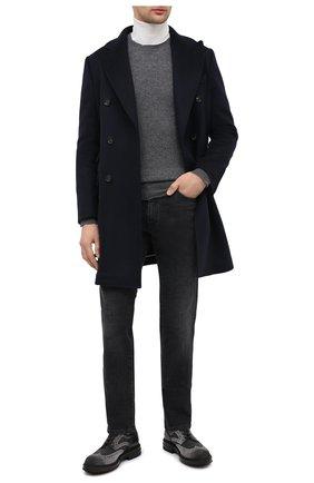 Мужской комбинированные дерби SANTONI серого цвета, арт. MGMI16231JK2EMENG62 | Фото 2