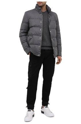 Мужская пуховая куртка monashee MONCLER серого цвета, арт. F2-091-1B543-00-54272 | Фото 2