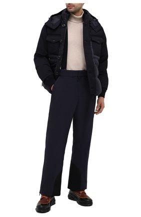 Мужской утепленные брюки MONCLER GRENOBLE темно-синего цвета, арт. F2-097-2A602-40-539WX | Фото 2
