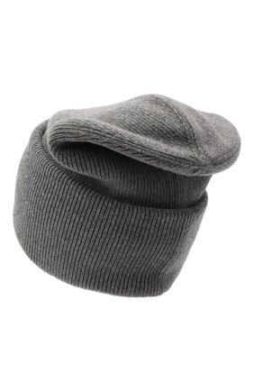 Мужская шерстяная шапка MONCLER GRENOBLE серого цвета, арт. F2-097-9Z702-00-A9251 | Фото 2