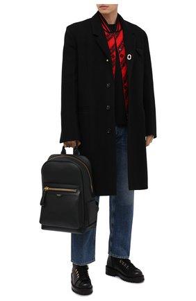 Мужской кожаный рюкзак TOM FORD черного цвета, арт. H0437T-LCL037 | Фото 2