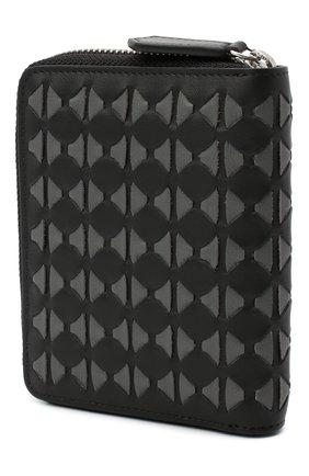 Мужской кожаное портмоне SERAPIAN темно-серого цвета, арт. SM0SAMSL7124M11K | Фото 2