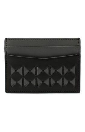 Мужской кожаный футляр для кредитных карт  SERAPIAN черного цвета, арт. SM0SAMSL7127M11K | Фото 1