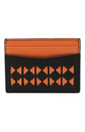 Мужской кожаный футляр для кредитных карт  SERAPIAN оранжевого цвета, арт. SM0SAMSL7127M11T | Фото 1