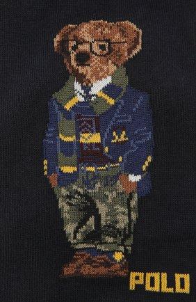 Мужские комплект их трех пар носков POLO RALPH LAUREN разноцветного цвета, арт. 449824757 | Фото 2