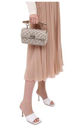 Женская сумка valentino garavani rockstud spike VALENTINO бежевого цвета, арт. UW2B0123/DFH | Фото 2