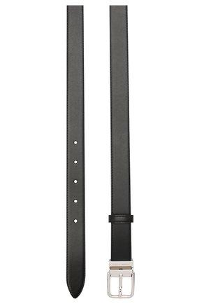 Женский кожаный ремень DOLCE & GABBANA черного цвета, арт. BE1351/AW740   Фото 2