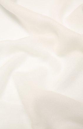 Мужские шарф из смеси кашемира и шелка BRUNELLO CUCINELLI белого цвета, арт. MSC924059P | Фото 2