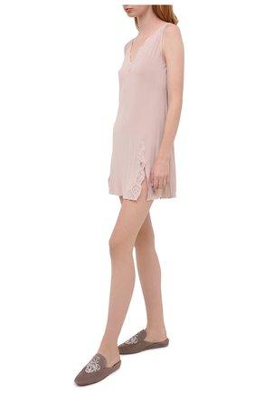 Женская сорочка GIANANTONIO PALADINI бежевого цвета, арт. W01TC06/X   Фото 2