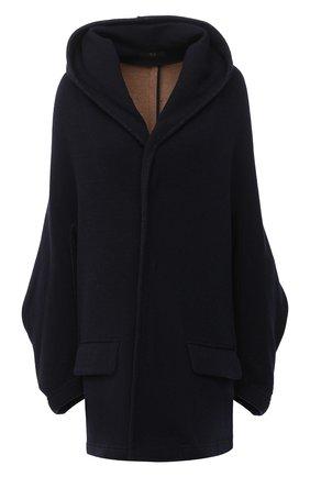 Женское пальто Y`S темно-синего цвета, арт. YB-C05-128   Фото 1