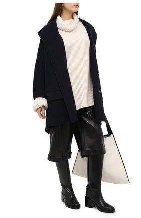 Женское пальто Y`S темно-синего цвета, арт. YB-C05-128   Фото 2