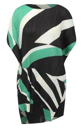 Женская топ ISSEY MIYAKE зеленого цвета, арт. PP08-JT752 | Фото 1