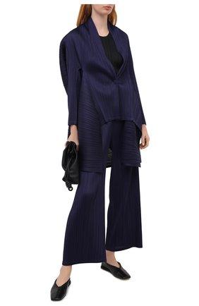 Женские брюки ISSEY MIYAKE темно-синего цвета, арт. PP08-JF493 | Фото 2