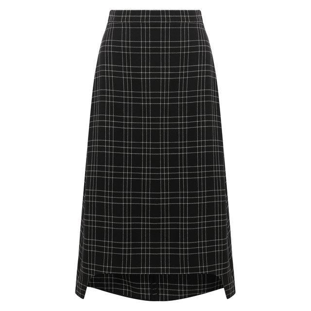 Шерстяная юбка Alexander McQueen