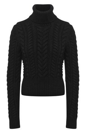 Женская кашемировый свитер DOLCE & GABBANA черного цвета, арт. FX892T/JAW3L | Фото 1