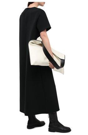 Женские кожаные ботинки LE GRES черного цвета, арт. D126NA | Фото 2