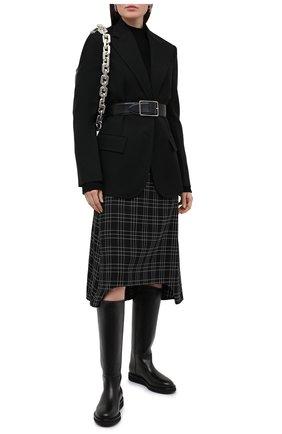 Женские кожаные сапоги LE GRES черного цвета, арт. D151NA | Фото 2