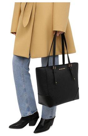 Женский сумка-тоут aria MICHAEL MICHAEL KORS черного цвета, арт. 30H9GXAT3L | Фото 2
