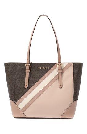 Женский сумка-тоут aria MICHAEL MICHAEL KORS розового цвета, арт. 30F0GXAT3V | Фото 1