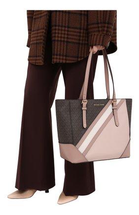 Женский сумка-тоут aria MICHAEL MICHAEL KORS розового цвета, арт. 30F0GXAT3V | Фото 2