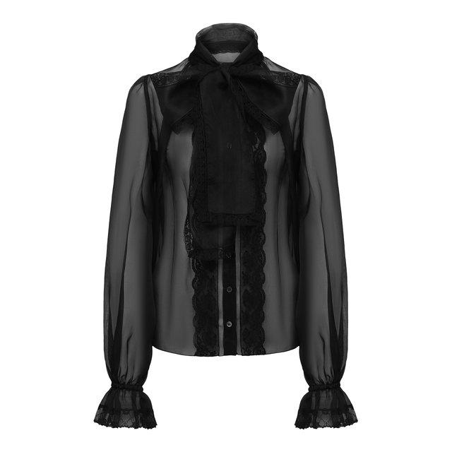 Шелковая блузка Dolce & Gabbana