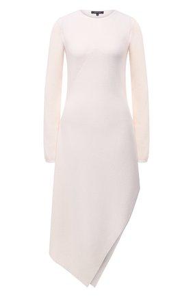 Женское платье из шерсти и кашемира BARBARA BUI белого цвета, арт. W4218WXA | Фото 1
