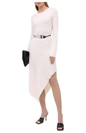 Женское платье из шерсти и кашемира BARBARA BUI белого цвета, арт. W4218WXA | Фото 2