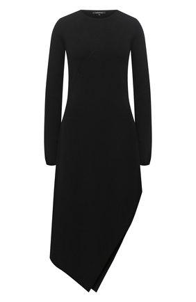 Женское платье из шерсти и кашемира BARBARA BUI черного цвета, арт. W4218WXA | Фото 1