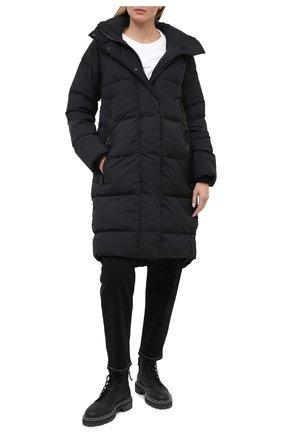 Женский пуховик CANADA GOOSE черного цвета, арт. 2610LB | Фото 2