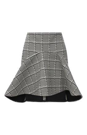 Женская шерстяная юбка VERSACE серого цвета, арт. A87921/A236492 | Фото 1