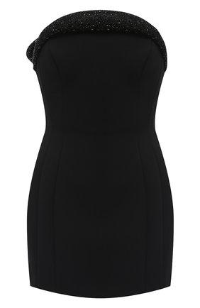 Женское платье из вискозы VERSACE черного цвета, арт. A87641/A237082 | Фото 1