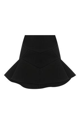 Женская юбка из вискозы VERSACE черного цвета, арт. A87566/A237082 | Фото 1