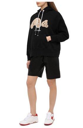 Женские кожаные кроссовки OFF-WHITE красного цвета, арт. 0WIA259F20LEA0010125   Фото 2